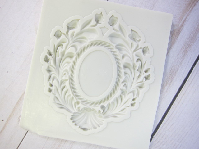 Mold Elegant Picture Frame Silicone Soft Silicone Mold Fondant Mat Cake