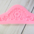Ornate Decorative Dimensional Element Silicone Mold Mould - Pink