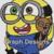 Minion Bob with Teddy - SC - 180x240 Throw - Graph w/Written
