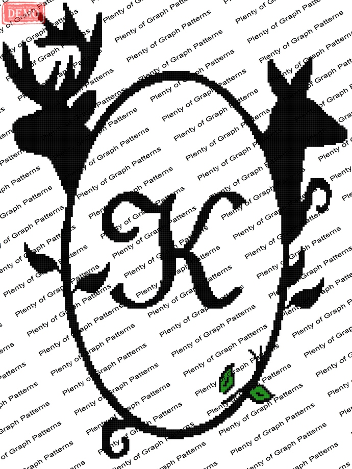 Buck and Doe Frame K graph and written pattern