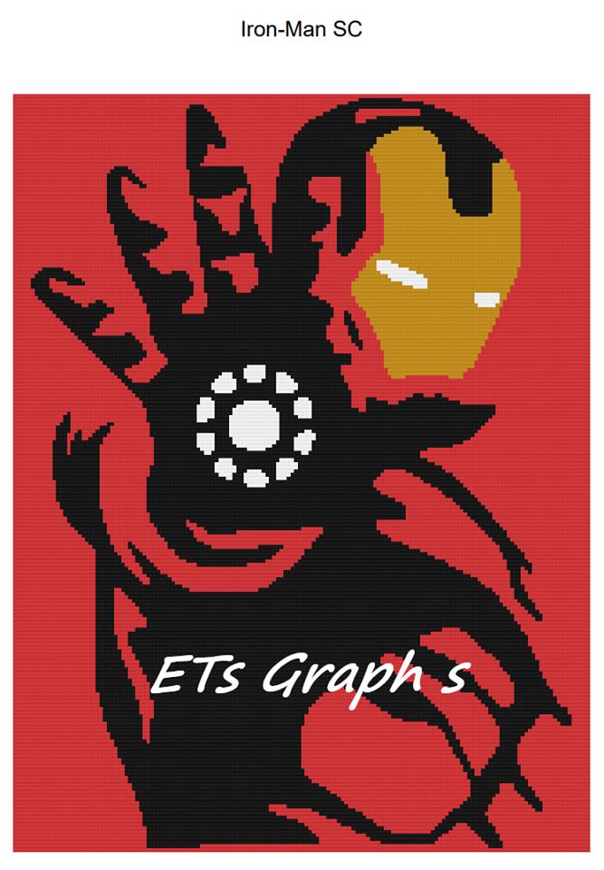 Iron Man - SC - 160x210 - Graph w/Written