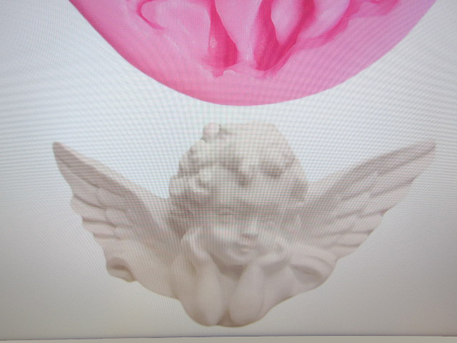 Mold Cherub Angel with Wings Silicone Soft Silicone Mold Fondant Mat Cake