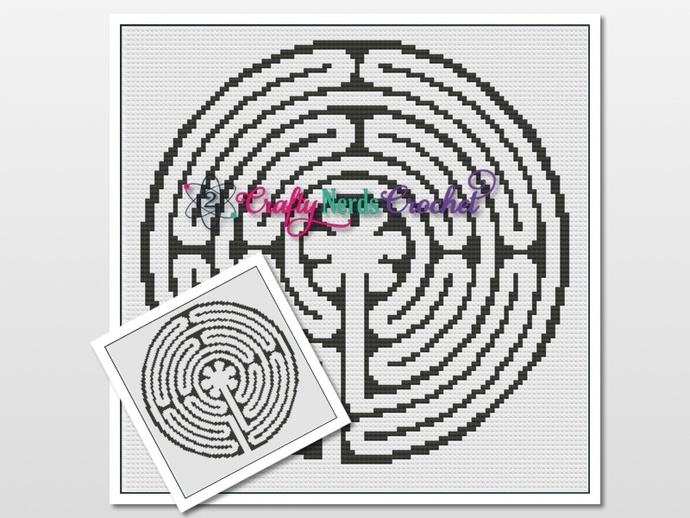 Labyrinth Pattern Graph with SC and MiniC2C Written