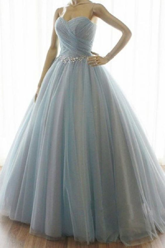 Custom Made Cute Prom Dresses Long, A-Line Prom Dresses
