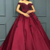 Gorgeous Satin Prom Dresses, Off-the-shoulder Neckline Ball Gown ,Prom Dress