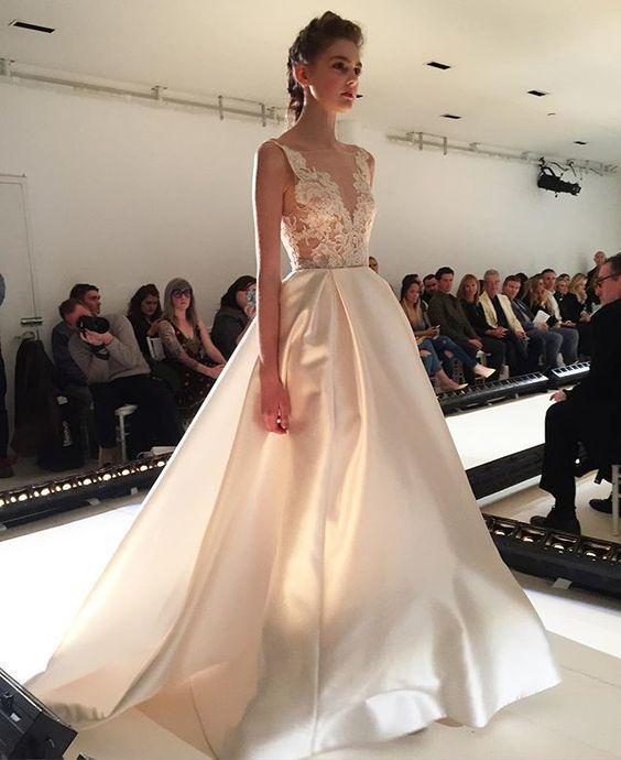 long wedding dress,party gown,custom made wedding dresses,new fashion Formal