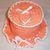 Copy of Toilet Tissue Holder, Peach and White Crochet Ruffled Toilet Tissue