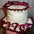 Copy of Copy of Toilet Tissue Holder, Ecru and Wine Crochet Ruffled Toilet