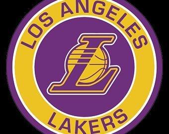 La Lakers Design Cut File SVG for Cricut Design Studio