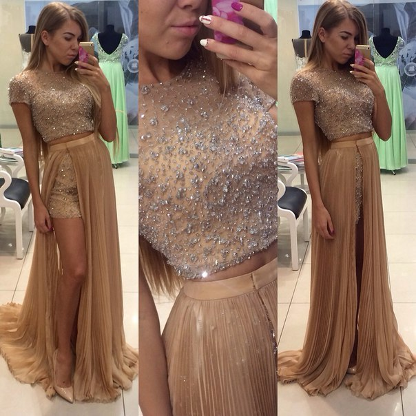 Charming Prom Dress,O-Neck Prom Dress,A-Line Prom Dress,Chiffon Prom Dress,Noble