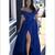 Royal Blue Prom Dresses,Off The Shoulder Prom Dress,Sexy Party Dress,