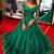 Long Sleeve Green Lace Prom Dress Sweetheart Pageant Dress