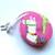 Tape Measure Alpacas on Pink Retractable Measuring Tape