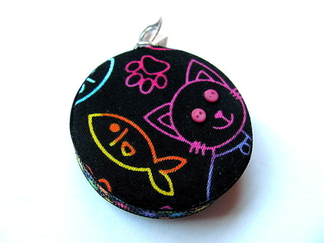 Tape Measure Neon Cats Retractable Measuring Tape