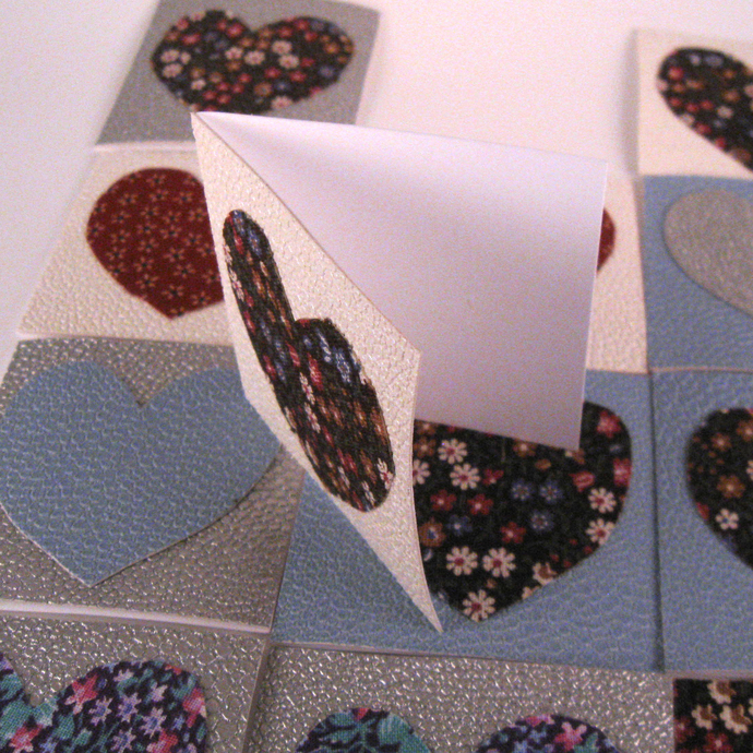 Heart Mini Blank Note Cards