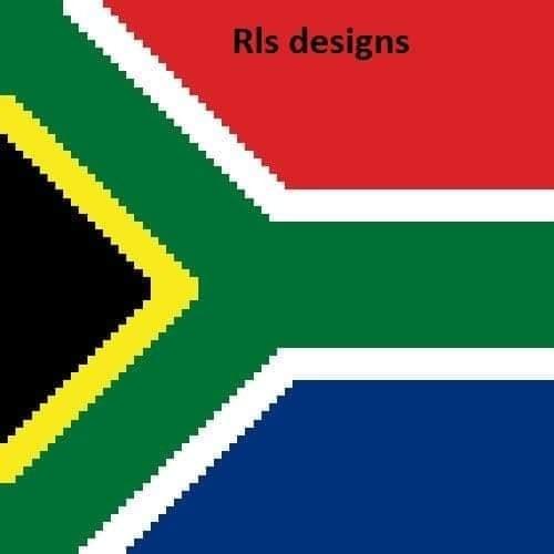 Africa Flag Pillow