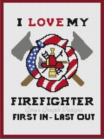 Love My Firefighter mini c2c