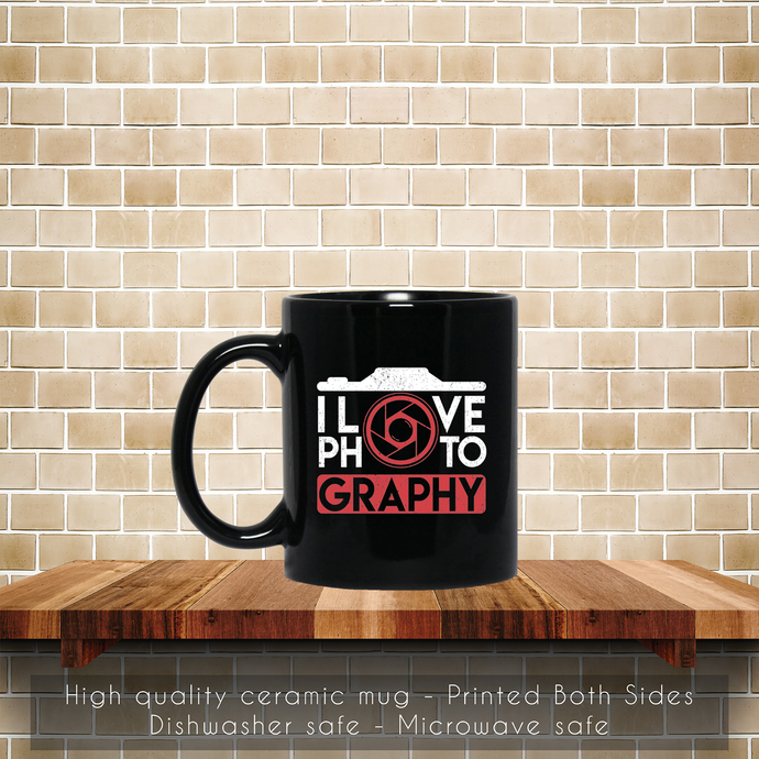 Love Photography, Photographer Gift Coffee Mug, Tea Mug, Coffee Mug,