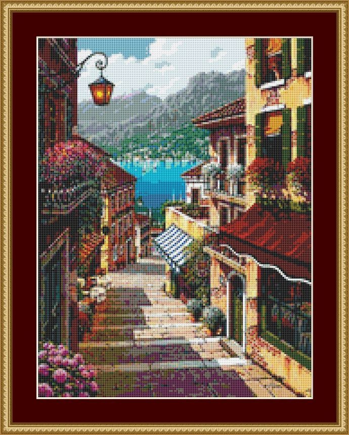 Down To The Shore Cross Stitch Pattern - Instant Digital Downloadable Pattern