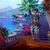 The Terrace Cross Stitch Pattern - Instant Digital Downloadable Pattern