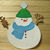 Cute Snowman with Hat, Scarf Cutting Die Set