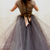Gorgrous Beaded Bodice Ball Gown Cap Sleeves Prom Dress with Removable