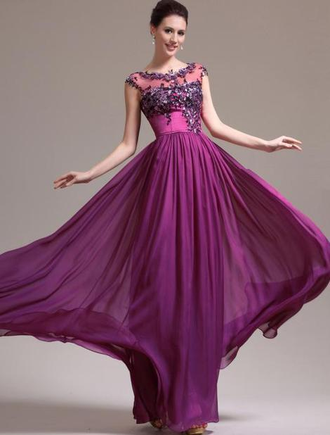 Floor Length evening dress, prom dress,cocktail dress