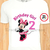 Minnie Mouse Birthday Girl Iron On Transfer
