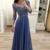 Sexy O-Neck Appliques  Prom Dresses,Long Prom Dresses,Cheap Prom Dresses,