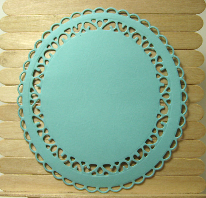 7pc Smaller Oval Frame Cutting Die Set