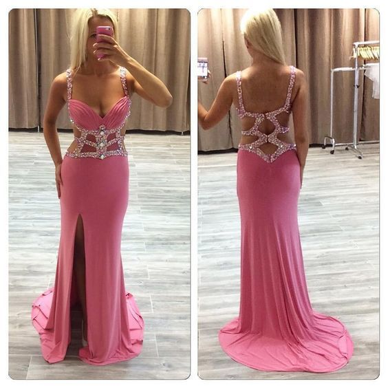 Sexy Prom Dress Party Gown Cocktail Formal Wear