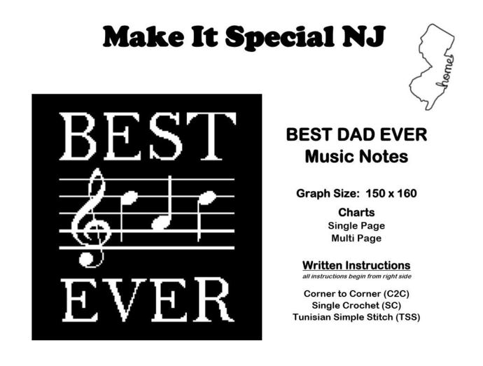 Best Dad Ever - Musical Notes