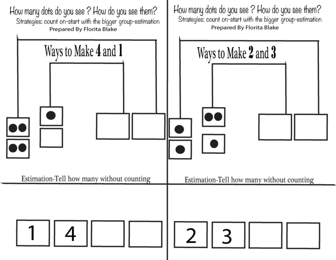 BOOK 3-Printable Math Journal-Representing and Representing  Number-Showing