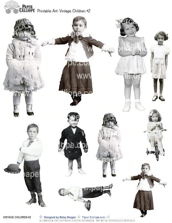 VINTAGE CHILDREN #2