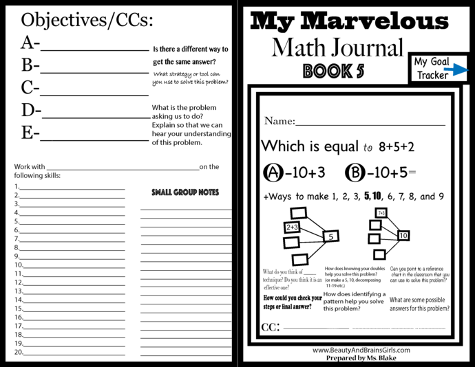 BOOK 5-Ways to Show Numbers PART 6