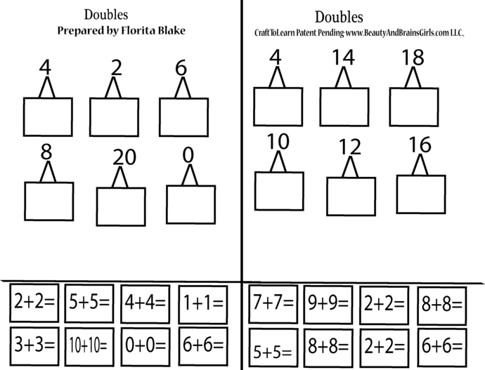 BOOK 9- PART 3- Add Within 5, 10, 2, 3, 4, 5, 6, 7, 8, and 9-Doubles-Near