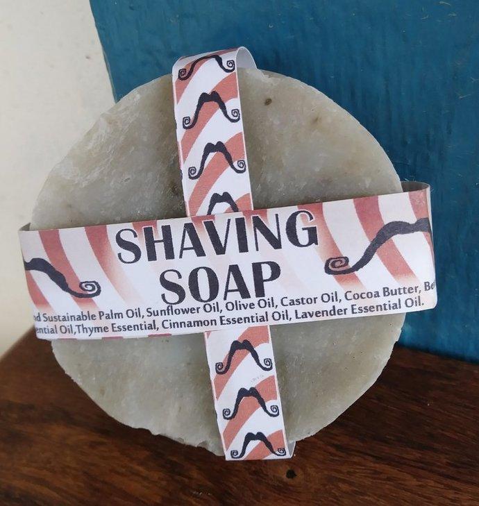 Shaving Soap   Bentonite Clay   Good Slip   Vegan Shaving   Organic and