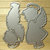 Little Boy and Girl Angel Cutting Dies, Children