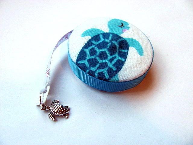 Measuring Tape Blue Turtles Retractable Tape Measure