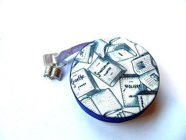 Tape Measure Book Love Retractable Measuring Tape