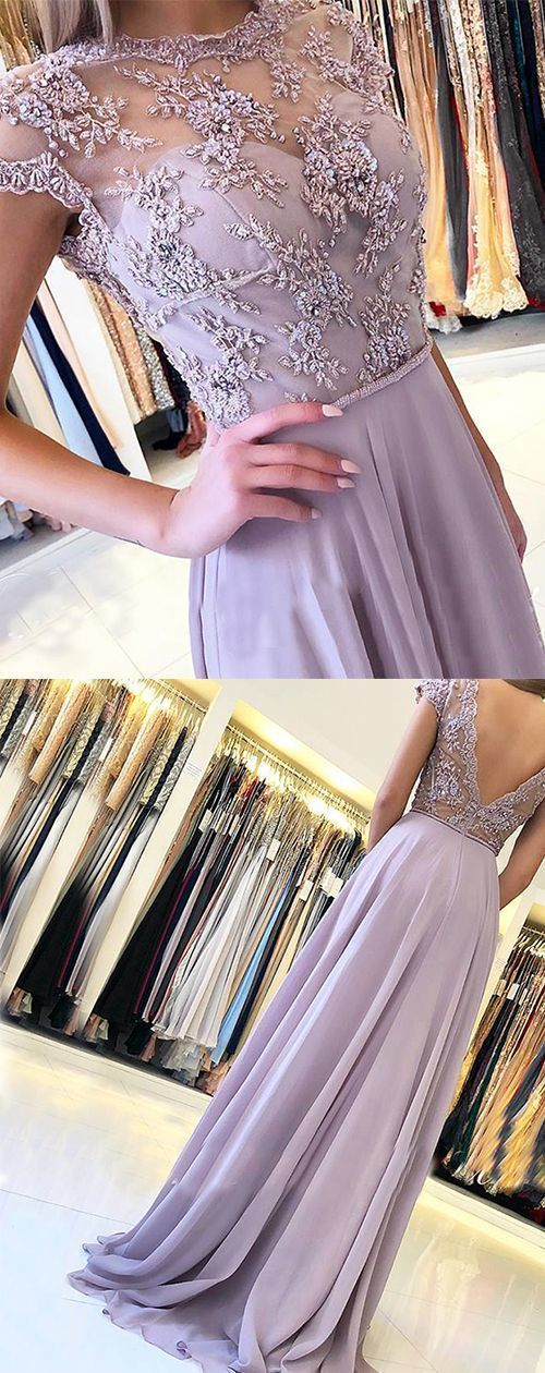 Turquoise SaLavender Backless Prom Dress 2019 Long, Lavender Prom Dress 2019
