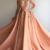 V-neck Applque Beading Prom Dresses.A-line Long Evening Dresses 2019 H6699