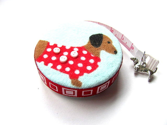 Copy of Measuring Tape Sweater Dachshunds Retractable Tape Measure