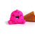 Scoopsie Dragon Fruit, ice cream scoop Art Toy, collectible art toy, fiber art
