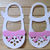 Little Girl Shoes with Bow and Buckles Cutting Die Set