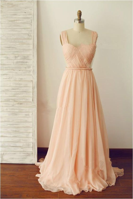 Pink bridesmaid dress,long bridesmaid dress,backless bridesmaid dress,cheap prom