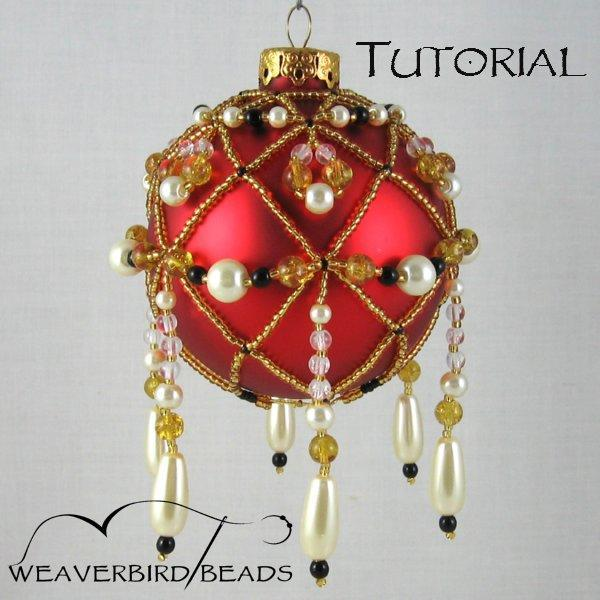 Tutorial Beaded Ornament personal use