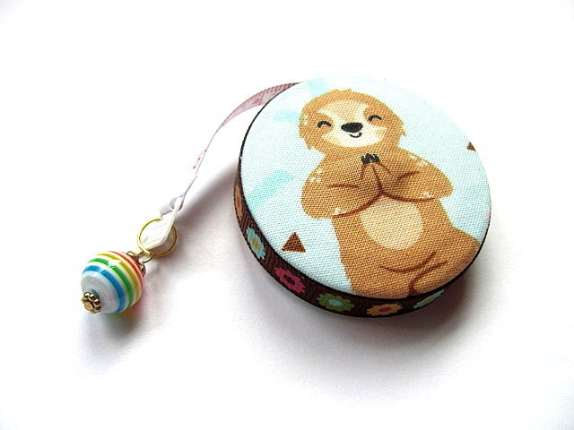 Tape Measure Smiling Sloths Retractable Measuring Tape