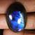 29.00Cts 100% Natural Multi Purple Flash Labradorite Oval Cab Loose Gemstones