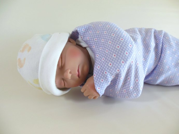 Swaddle Sack, Sleep Sack, Cocoon, Blanket, Wrap in Purple & Pink